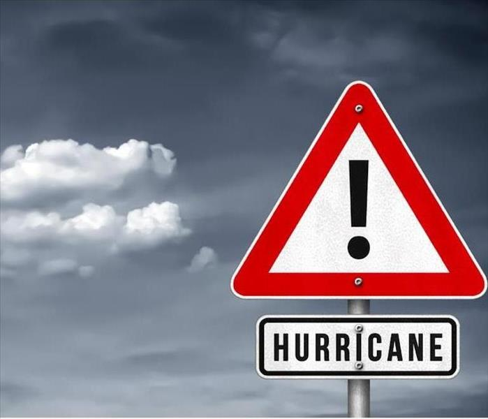 Road Sign for Hurricane